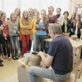 Keramikas G. Raudonius Švėkšnos Saulės gimnazijoje