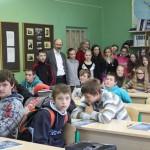 Architektas Zigmantas Brazauskas Kupiškio r. Šepetos A. Adamkienės pagrindinėje mokykloje