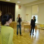 Aktorius A. Sakalauskas Jonavos Senamiesčio gimnazijoje