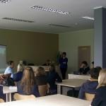 Architektė R. M. Janulevičienė Molėtų gimnazijoje